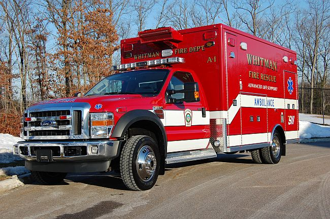 Whitman, MA Ambulance