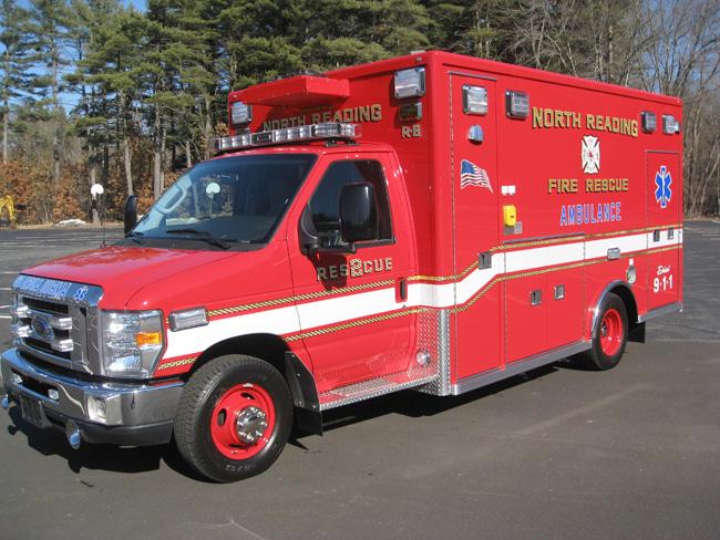 North Reading, MA Life Line Ambulance