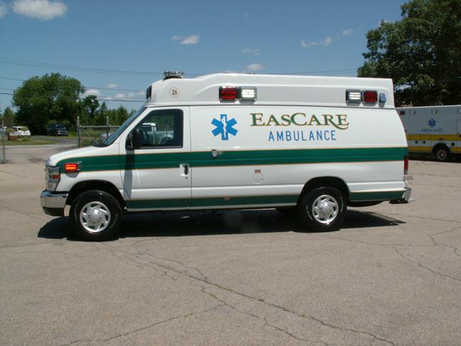 EasCare Ambulance Service Marque Type II Van – Specialty