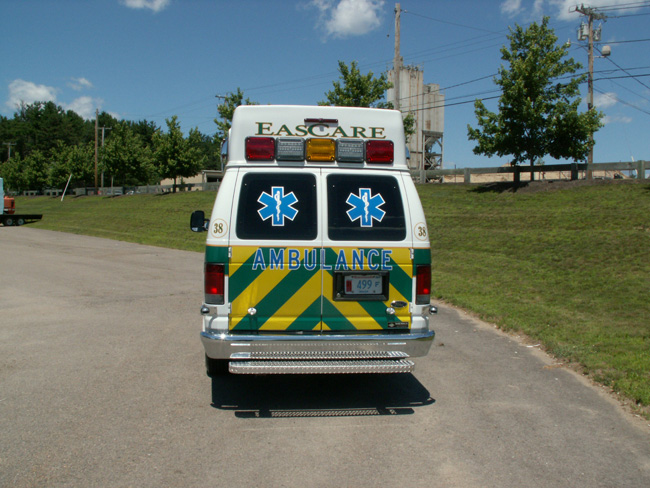 EasCare Ambulance Service Marque Type II Van – Specialty Vehicles, Inc